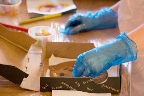 Childrens' Chocolate Making Activities