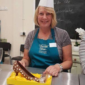 Chocolate Shoe and Truffle making workshop