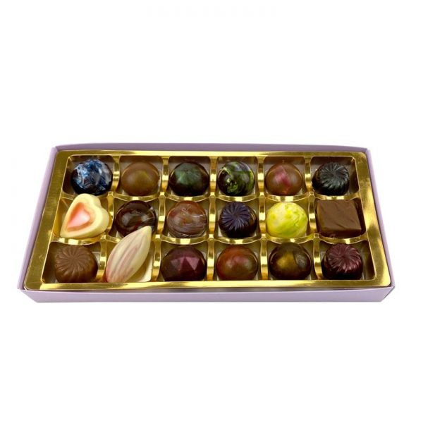 Chappel Chocolate House box of 18 chocolates