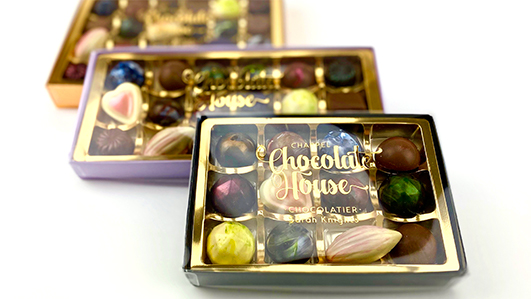 Chappel Chocolate House boxes of chocolates