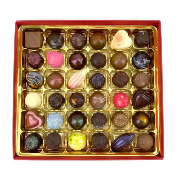 Chappel Chocolate House Box of 36 chocolates