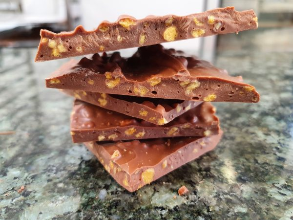 Milk Chocolate and Honeycomb Brittle