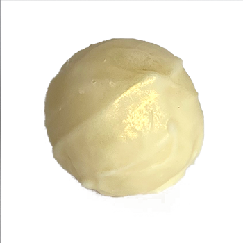 White chocolate Marc De Champagne truffle