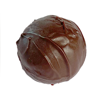 Dark chocolate Marc De Champagne Truffle
