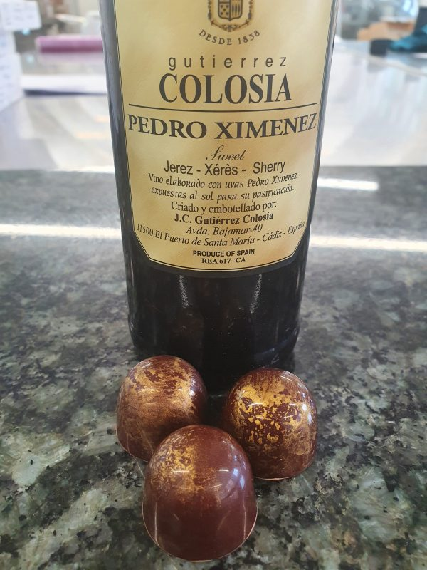 Pedro Ximenez sherry chocolate