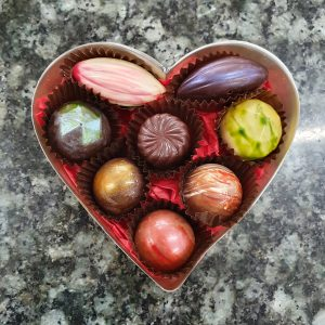 box of 8 heart box